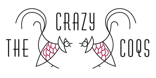 The Crazy Coqs logo
