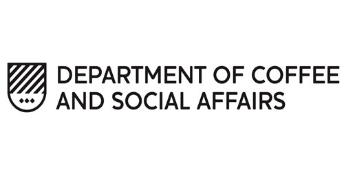 Department of Coffee and Social Affairs logo