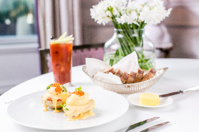 Sunday Brunch at Roux at The Landau on Regent Street London