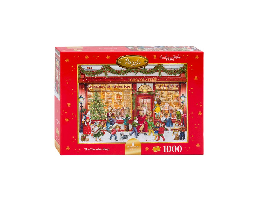 Fortnum & Mason: The Chocolate Shop 1000pc puzzle, £20