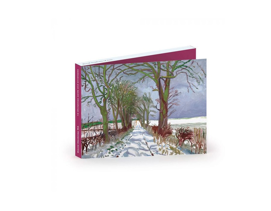 The Royal Academy of Arts: Winter Tunnel with Snow by David Hockney RA, £8.95