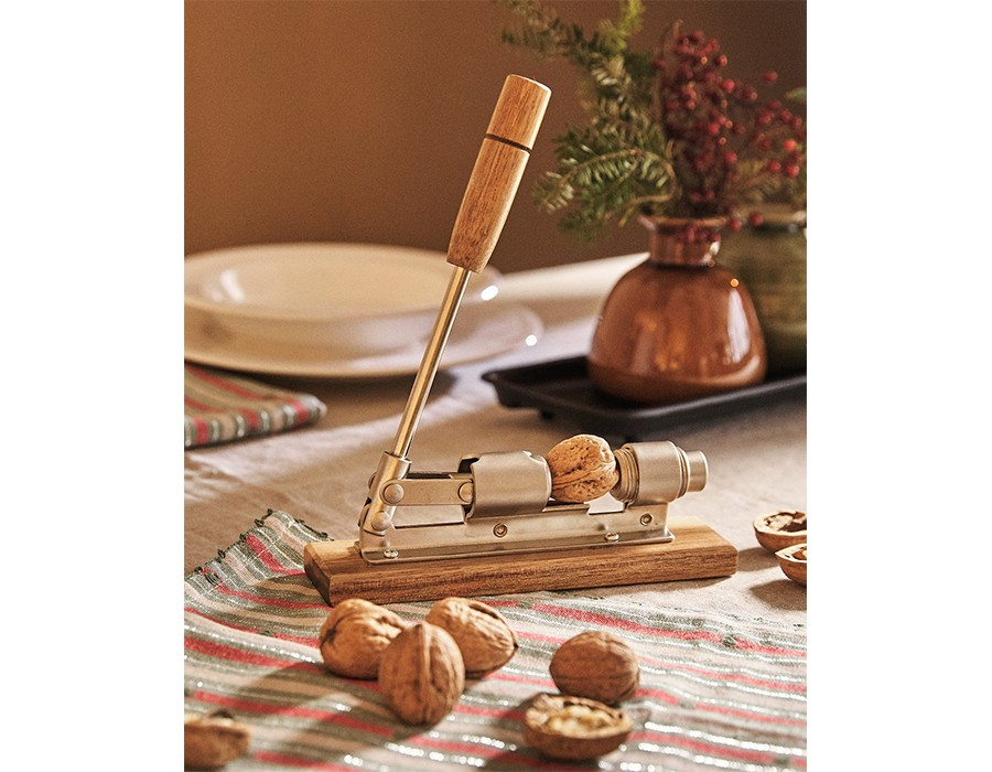 Zara Home: Acacia Wood Nutcracker, £25.99