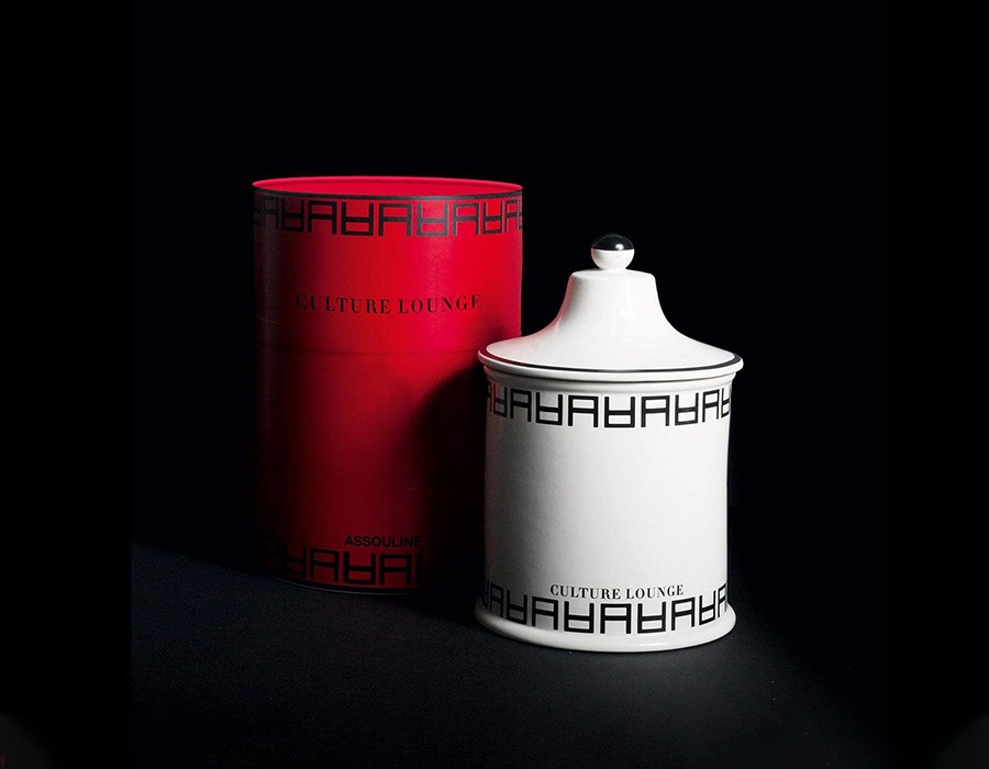 Assouline: Culture Lounge Candle XL