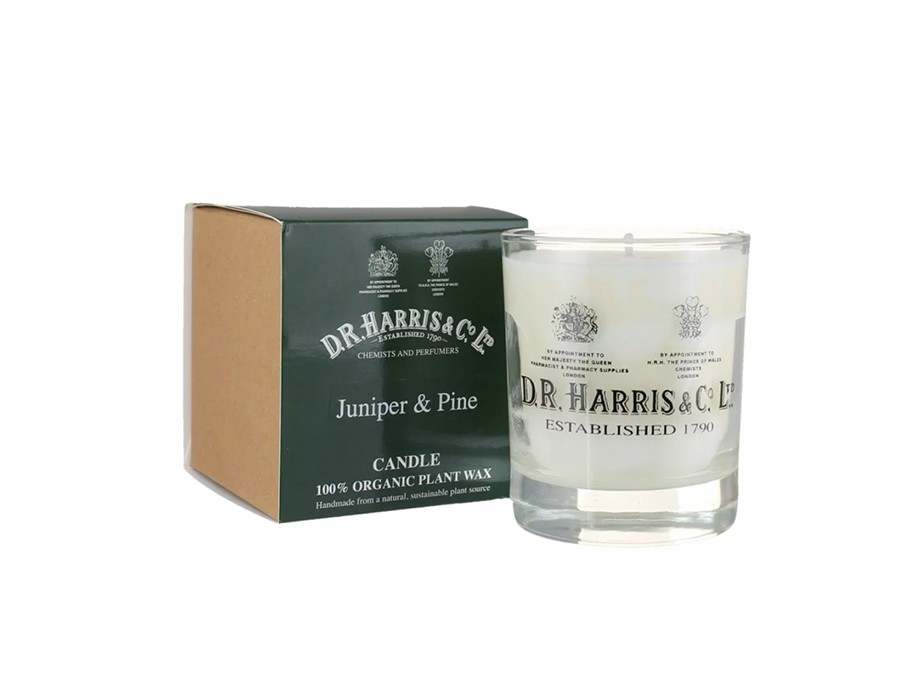 D.R. Harris & Co.: Juniper and Pine Candle