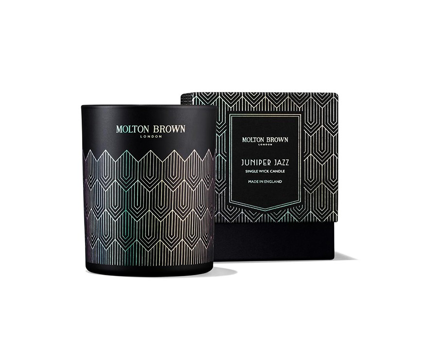 Molton Brown: Juniper Jazz Single Wick Candle