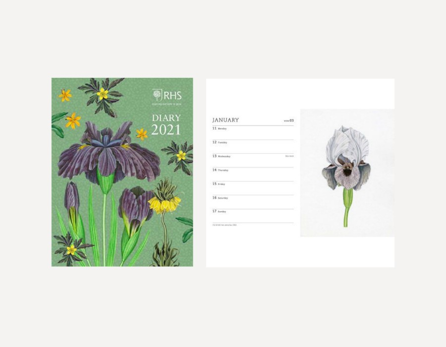 Royal Horticultural Society Pocket Diary 2021 (Hardback)