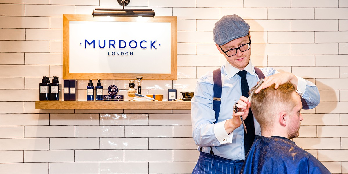 Barber appointment at Murdock London